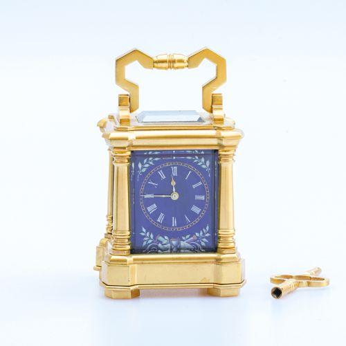 J.W. Benson Miniature Carriage Clock