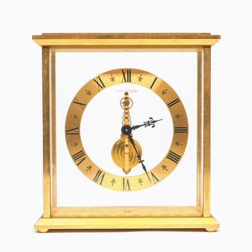 Jaeger-LeCoultre Golden Bridge Four-Glass Table Clock