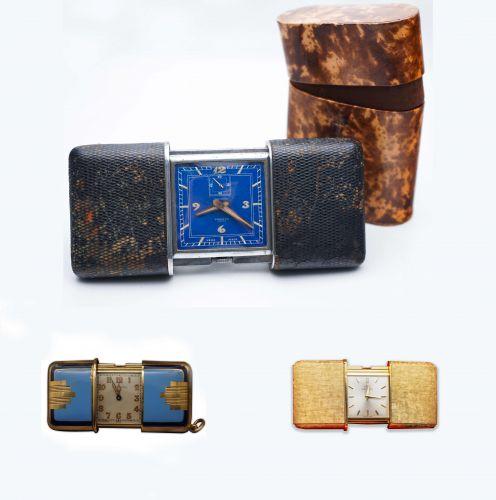 Three Ermeto Model Timepieces
