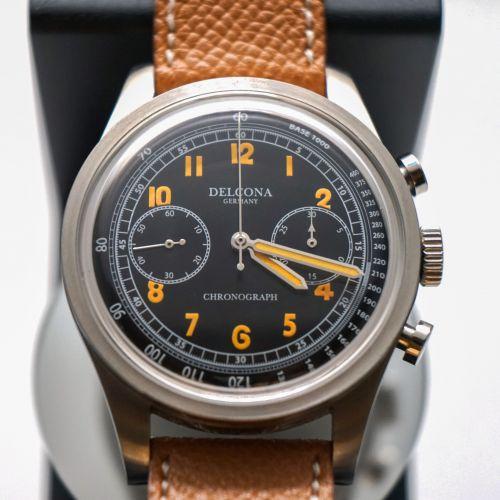 DELCONA Chronograph Wrist Watch