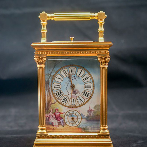L. Varad & Co. Chinese Market Carriage Clock