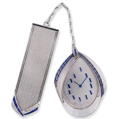 Vacheron Constantin 18K White Gold Dress Watch with Fob