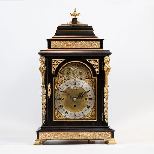19th Century British Musical Bracket Clock