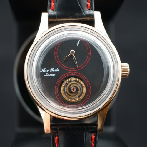 The Prototype of Huo's One- Floating Tourbillon