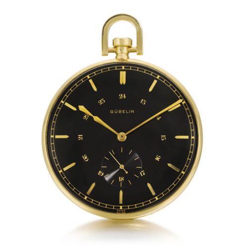 GÜBELIN Open-faced Pocket Watch