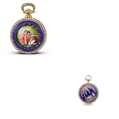 Two Chinese Market Pocket Watches
