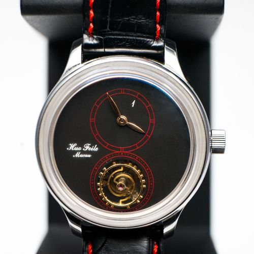 Huo's One Floating Tourbillon Stainless Steel