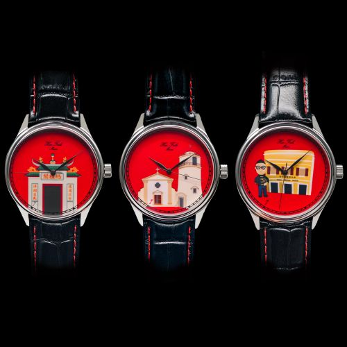 Huo's Seven Anniversary Wristwatch