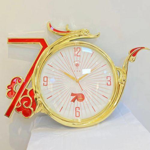 """新中國成立70周年紀念""""騰飛中國龍""""掛鐘"""