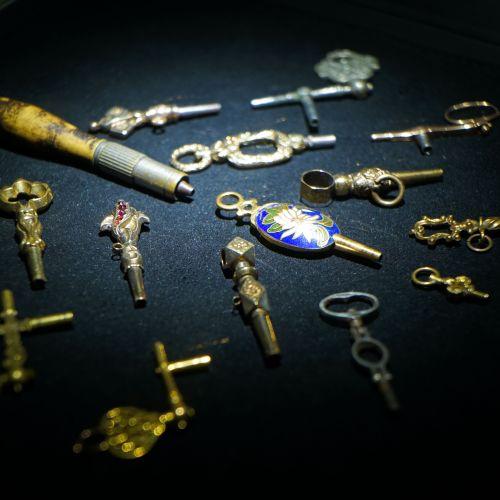 各類上鏈鑰匙