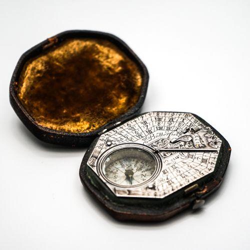 西式銀制日晷