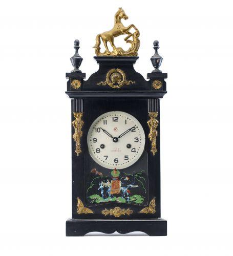 1958年公私合營上海三五牌馬頭座鐘