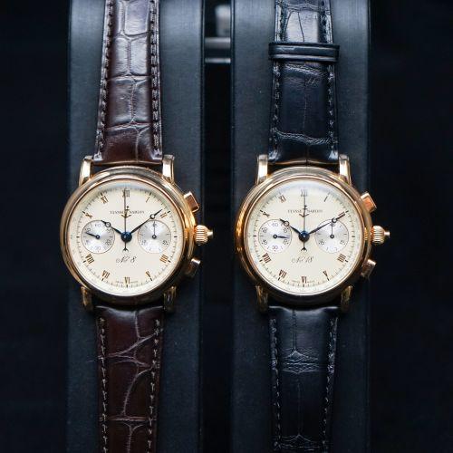 錯版雅典追針腕錶