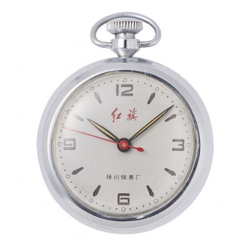 1978年揚州表廠紅旗懷錶