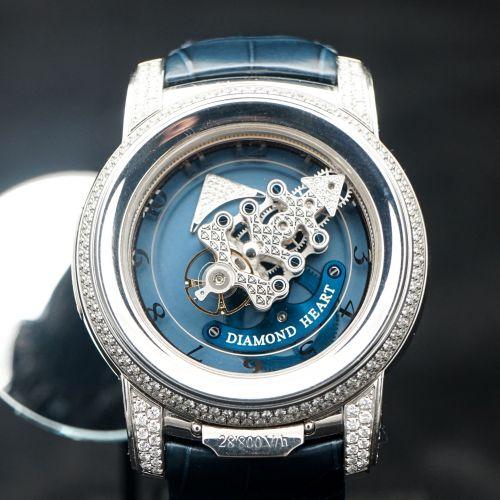 雅典奇想系列鑽石心腕錶
