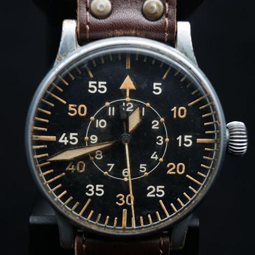 1940年代Wempe德国大飞腕表