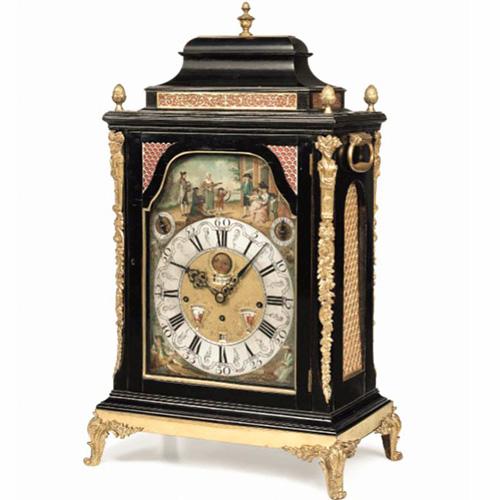 十八世纪音乐动偶钟