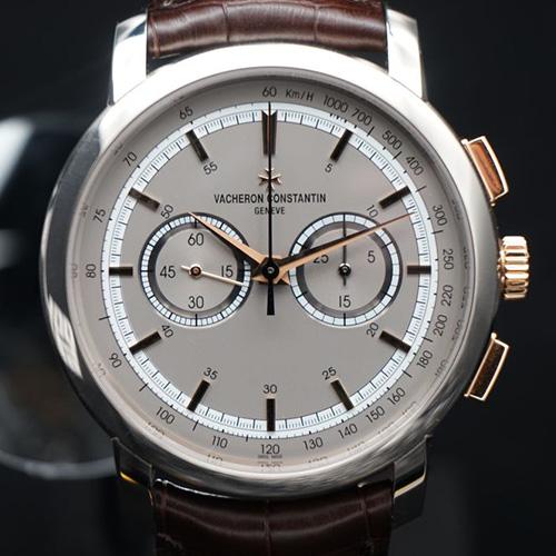 江诗丹顿传袭系列双色金计时腕表