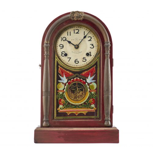 1957年永字牌《和平宣言》签署纪念座钟