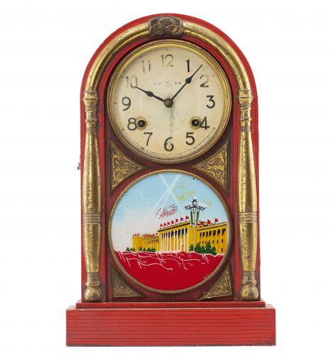 1959年新中国成立十周年系列人民大会堂纪念座钟