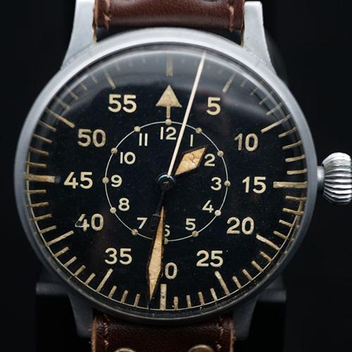 1940年代Laco德国大飞腕表