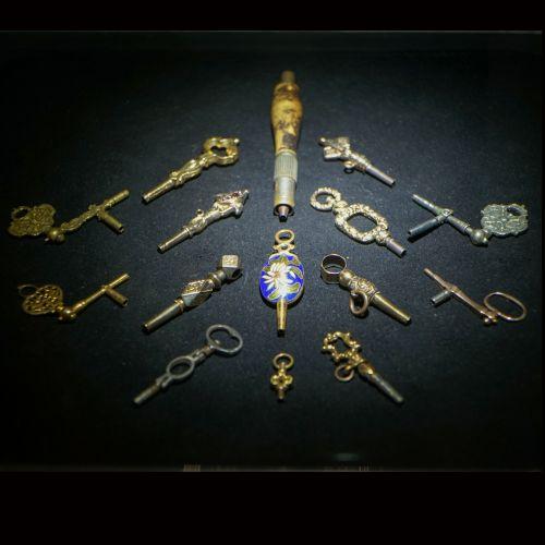 各类上链钥匙