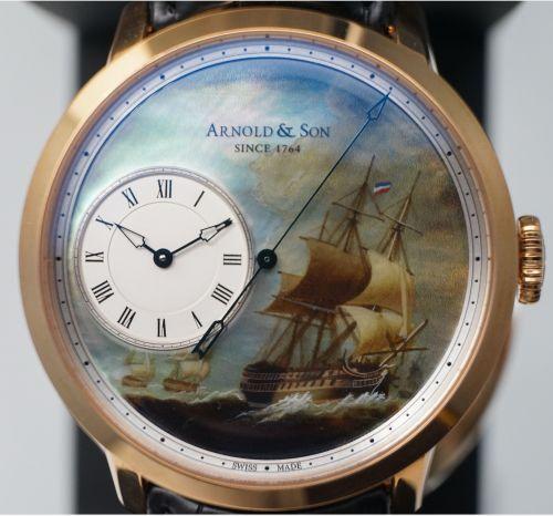 Arnold & Son 东印度公司限量纪念套装腕表(1)