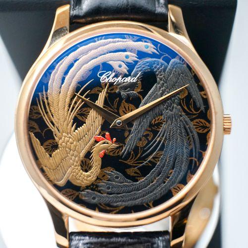 萧邦莳绘腕表