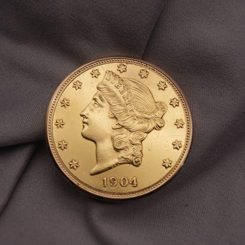 三枚20美元金币表(约1970-1980年)