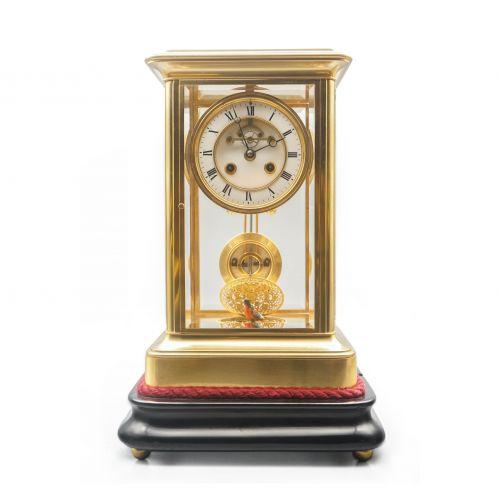十九世纪法国鸟鸣四明钟