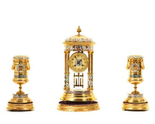 十九世纪法国三件套钟